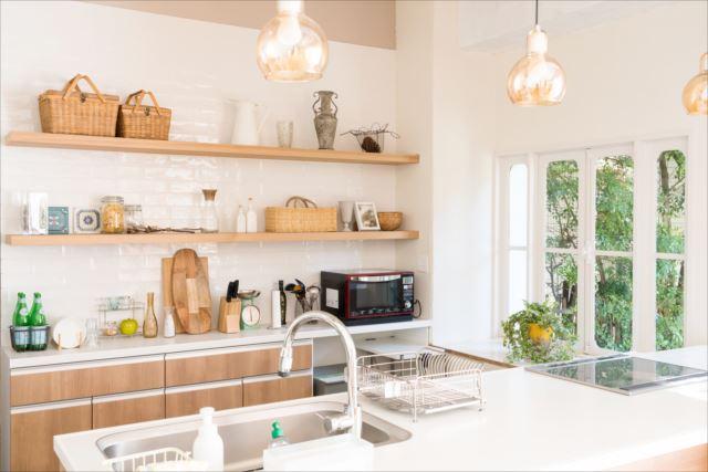 注文住宅でキッチンの収納を考えた間取りとは?